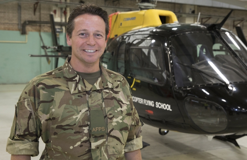 Nigel Huddleston on RAF scheme