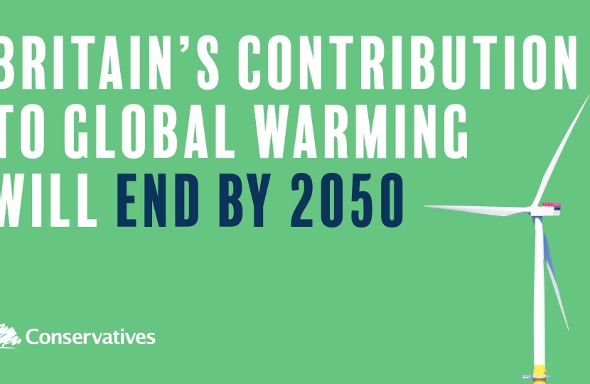 Our Contribution to Global Warming will end by 2050