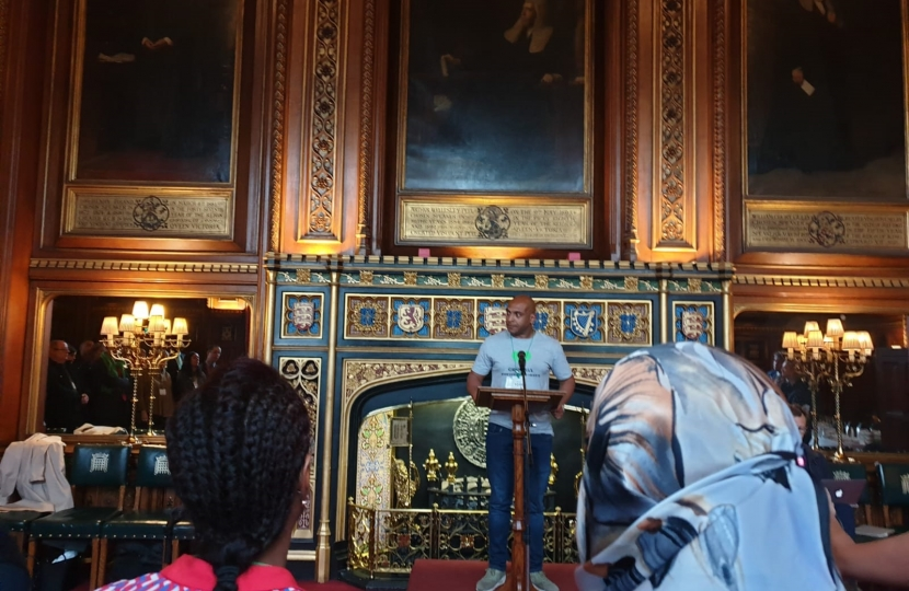 Grenfell event at Parliament