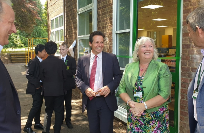Nigel on a recent School Visit