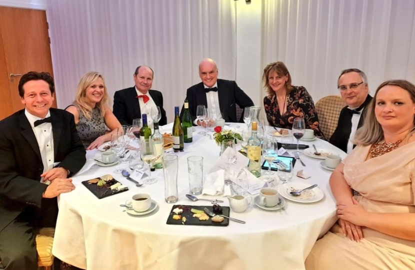 Mid Worcestershire Conservative Dinner