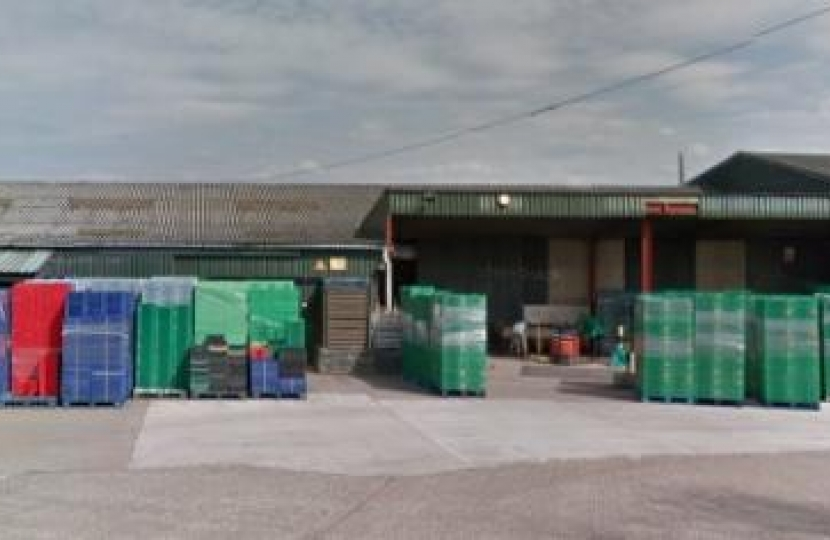 Evesham Food Packaging Site